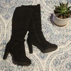 Impo Black Heeled Boots *HOST PICK*